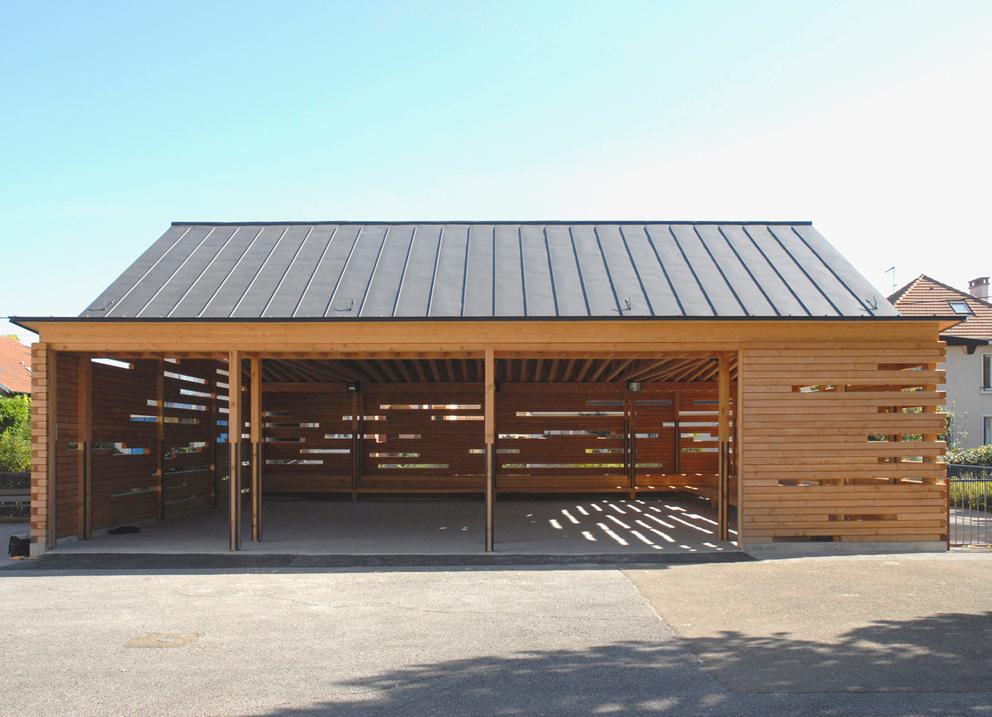 Dumont legrand architectes for Architecture en bois