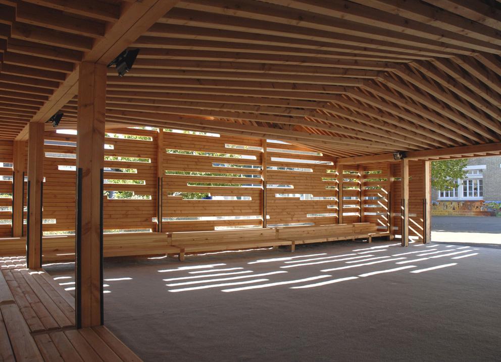 Dumont legrand architectes - Anglade structure bois ...